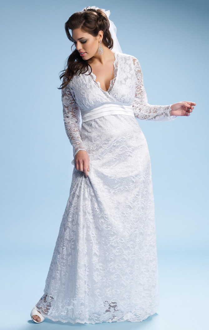 Get The Look Kate Middleton Wedding Dress In Plus Sizes